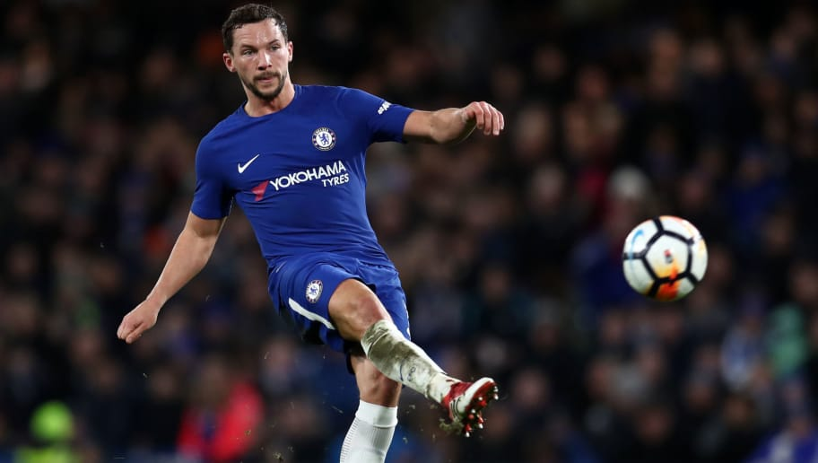 LONDON, ENGLAND - FEBRUARY 16: Danny Drinkwater of Chelsea during The Emirates FA Cup Fifth Round match between Chelsea and Hull City at Stamford Bridge on February 16, 2018 in London, England. (Photo by Catherine Ivill/Getty Images)