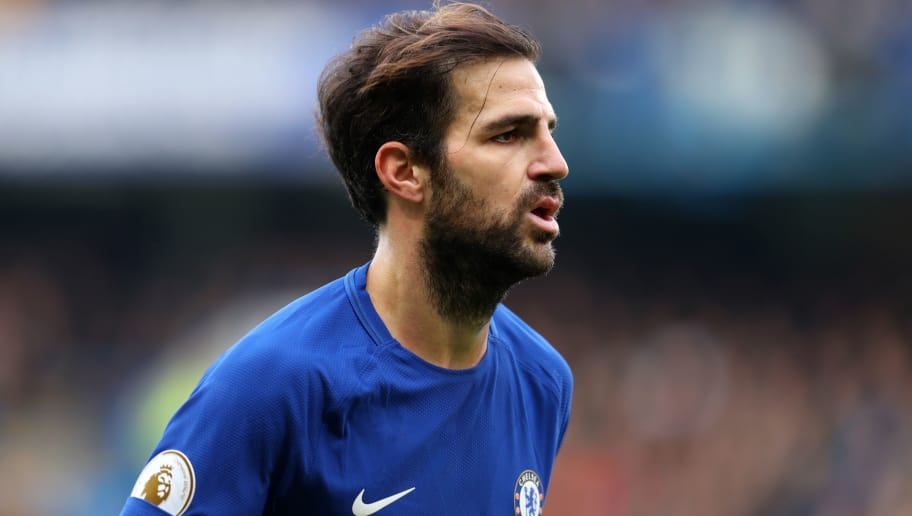 LONDON, ENGLAND - DECEMBER 02: Cesc Fabregas of Chelsea during the Premier League match between Chelsea and Newcastle United at Stamford Bridge on December 2, 2017 in London, England. (Photo by Catherine Ivill/Getty Images)