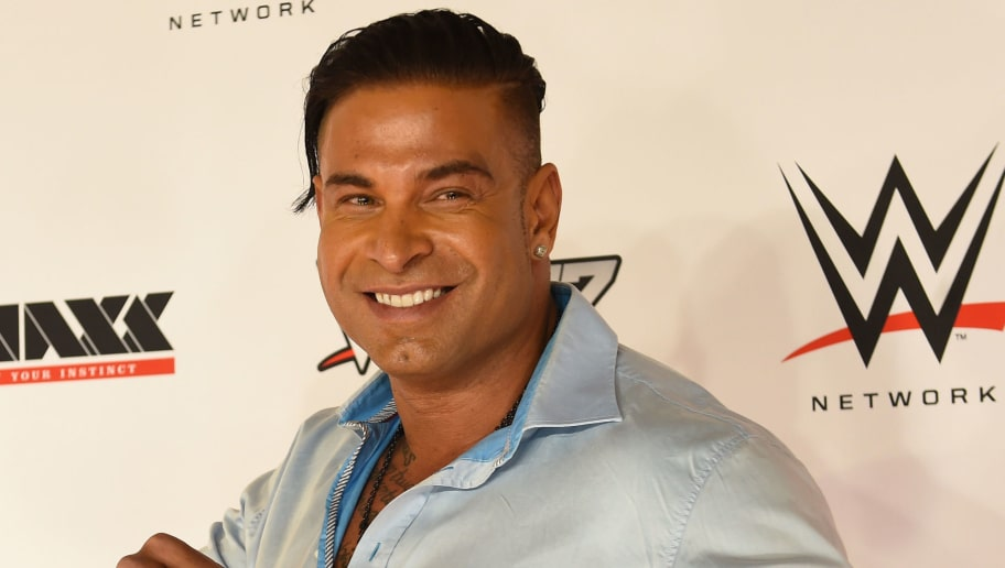 Former German football goalkeeper Tim Wiese (battle name: The Machine) poses on the red carpet prior to the WWE (World Wrestling Entertainment) Six-Man-Tag-Team-Match event at the Olympic Hall in Munich, southern Germany on Novermber 3, 2016.  Former German national football team goalkeeper Tim Wiese made his full WWE debut in what he describes as the 'Champions League' of wrestling. / AFP / CHRISTOF STACHE        (Photo credit should read CHRISTOF STACHE/AFP/Getty Images)