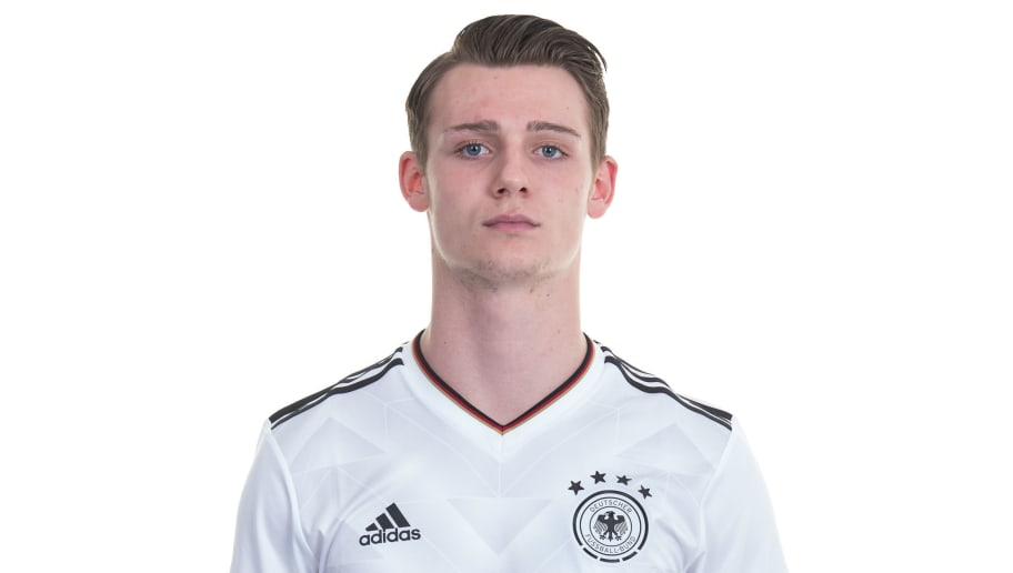 HOMBURG, GERMANY - MARCH 22: Toerles Knoell poses during the Germany U20 Team Presentation on March 22, 2017 in Homburg, Germany. (Photo by Daniel Kopatsch/Bongarts/Getty Images)