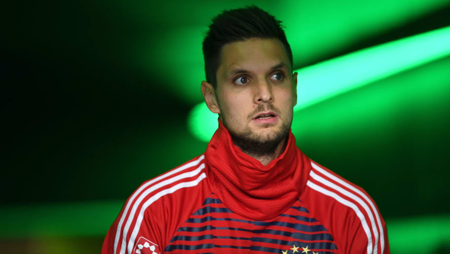 WOLFSBURG, GERMANY - FEBRUARY 17:  Sven Ulreich of Muenchen looks on prior to the Bundesliga match between VfL Wolfsburg and FC Bayern Muenchen at Volkswagen Arena on February 17, 2018 in Wolfsburg, Germany.  (Photo by Stuart Franklin/Bongarts/Getty Images)