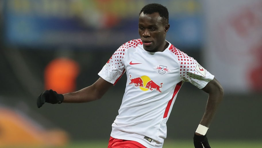 LEIPZIG, GERMANY - MARCH 03:  Bruma of RB Leipzig runs with the ball during the Bundesliga match between RB Leipzig and Borussia Dortmund at Red Bull Arena on March 3, 2018 in Leipzig, Germany.  (Photo by Boris Streubel/Bongarts/Getty Images)