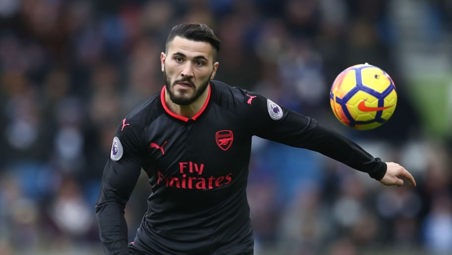BRIGHTON, ENGLAND - MARCH 04: Sead Kolasinac of Arsenal during the Premier League match between Brighton and Hove Albion and Arsenal at Amex Stadium on March 4, 2018 in Brighton, England. (Photo by Catherine Ivill/Getty Images)