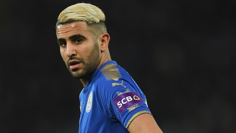 LEICESTER, ENGLAND - FEBRUARY 16:  Riyad Mahrez of Leicester in action during The Emirates FA Cup Fifth Round match between Leicester City and Sheffield United at The King Power Stadium on February 16, 2018 in Leicester, England.  (Photo by Michael Regan/Getty Images)