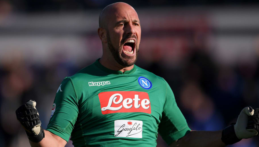 Napoli Stopper Pepe Reina Tipped to Sign €6m Contract With AC Milan in the  Summer | 90min
