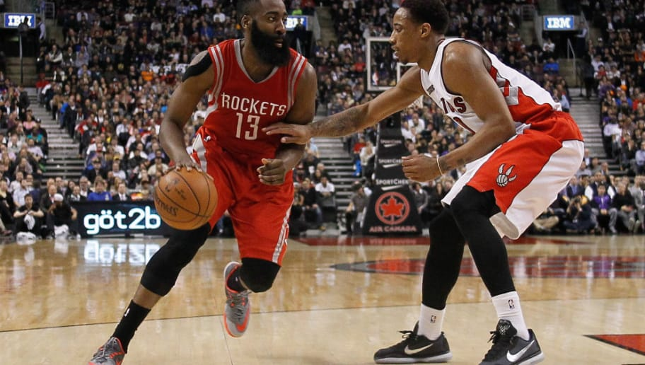 e8a14bc93455 DeMar DeRozan Says James Harden Should Be a Lock for MVP
