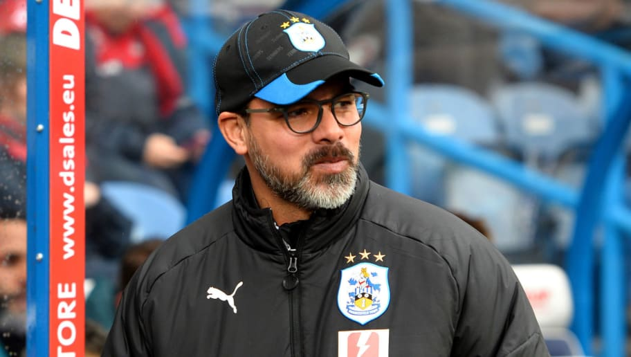 HUDDERSFIELD, ENGLAND - MARCH 10:  David Wagner, Manager of Huddersfield Town looks on prior to the Premier League match between Huddersfield Town and Swansea City at John Smith's Stadium on March 10, 2018 in Huddersfield, England.  (Photo by Tony Marshall/Getty Images)