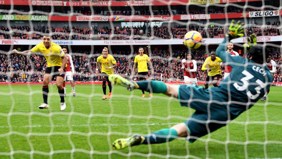 Arsenal Star Hector Bellerin Mocks Troy Deeney After Watford