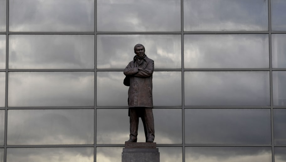 MANCHESTER, ENGLAND - DECEMBER 26:  The statue of Sir Alex Ferguson is seen ahead of the Premier League match between Manchester United and Burnley at Old Trafford on December 26, 2017 in Manchester, England.  (Photo by Stu Forster/Getty Images)