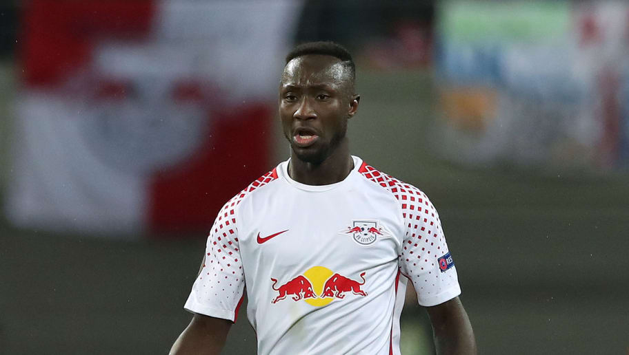 LEIPZIG, GERMANY - MARCH 08: Naby Keita of RB Leipzig runs with the ball during the UEFA Europa League Round of 16 match between RB Leipzig and Zenit St Petersburg at the Red Bull Arena on March 8, 2018 in Leipzig, Germany. (Photo by Ronny Hartmann/Bongarts/Getty Images)