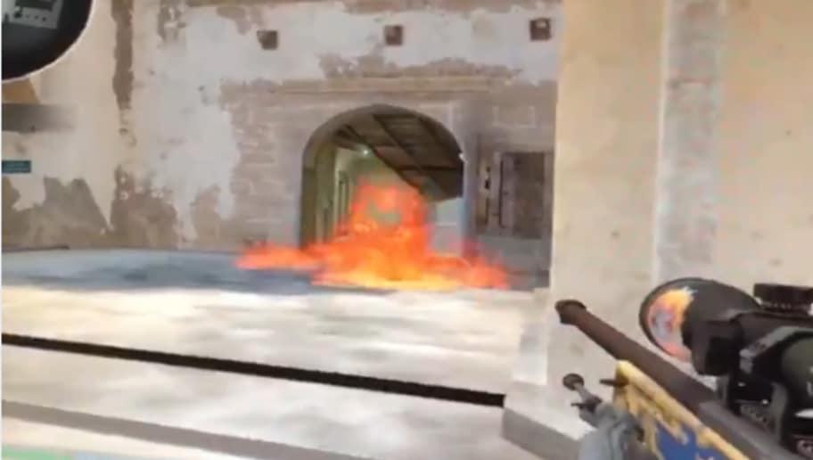 Molotov Graphics Glitch Discovered in CS:GO | dbltap