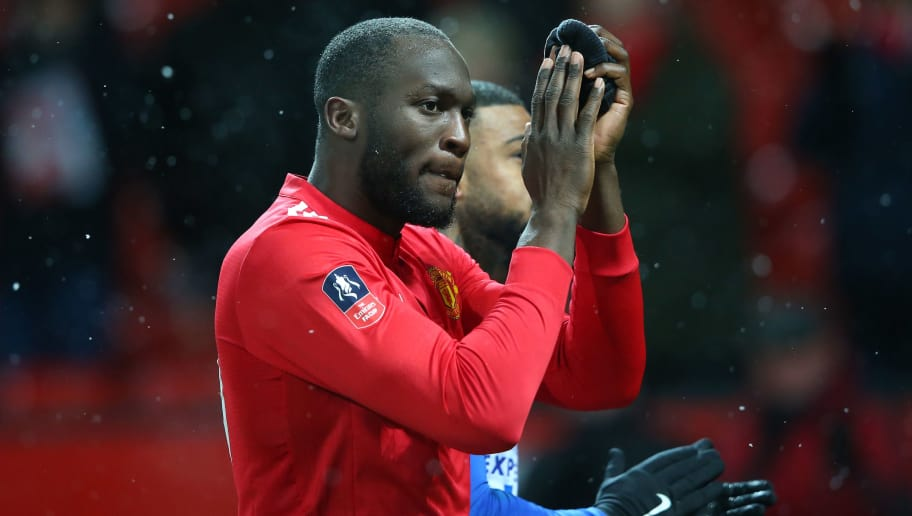 MANCHESTER, ENGLAND - MARCH 17:  Romelu Lukaku of Manchester United walks off the pitch after The Emirates FA Cup Quarter Final match between Manchester United and Brighton & Hove Albion at Old Trafford on March 17, 2018 in Manchester, England.  (Photo by Alex Livesey/Getty Images)