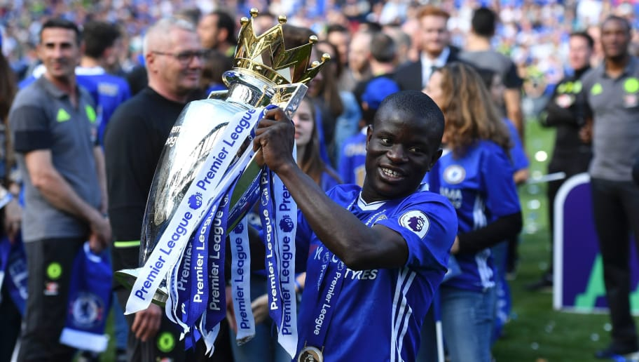 Image result for kante chelsea titles