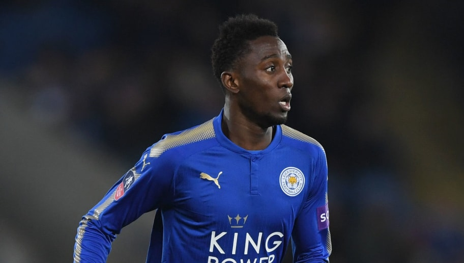 LEICESTER, ENGLAND - FEBRUARY 16:  Wilfred Ndidi of Leicester City runs with the ball during the  The Emirates FA Cup Fifth Round between Leicester City and Sheffield United at The King Power Stadium on February 16, 2018 in Leicester, England.  (Photo by Shaun Botterill/Getty Images)