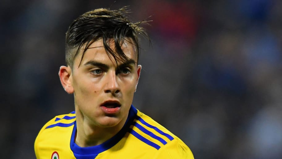 FERRARA, ITALY - MARCH 17:  Paulo Exequiel Dybala of Juventus looks on during the serie A match between Spal and Juventus at Stadio Paolo Mazza on March 17, 2018 in Ferrara, Italy.  (Photo by Alessandro Sabattini/Getty Images)