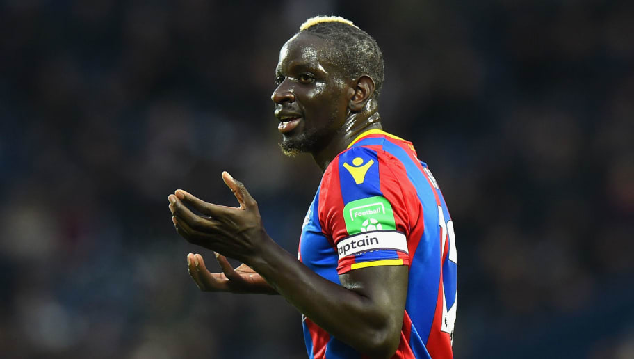 WEST BROMWICH, ENGLAND - DECEMBER 02:  Mamadou Sakho of Crystal Palace during the Premier League match between West Bromwich Albion and Crystal Palace at The Hawthorns on December 2, 2017 in West Bromwich, England.  (Photo by Tony Marshall/Getty Images)