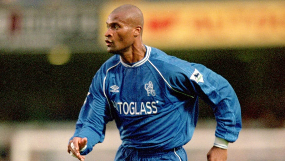 21 Oct 2000:  Winston Bogarde of Chelsea in action during the FA Carling Premiership match against Coventry City played at Stamford Bridge, in London. Chelsea won the match 6-1. \ Mandatory Credit: Clive Brunskill /Allsport
