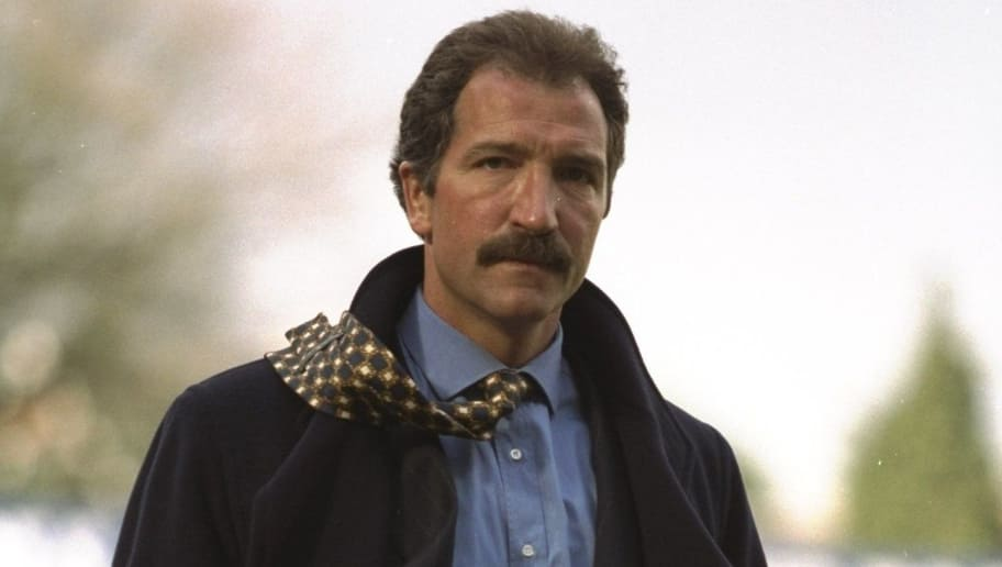 19 Apr 1997:  Graeme Souness, the manager of Southampton returns to the bench during the Premier League match against Coventry City at The Dell in Southampton, England. The game was drawn 2-2. \ Mandatory Credit: Gary M Prior /Allsport
