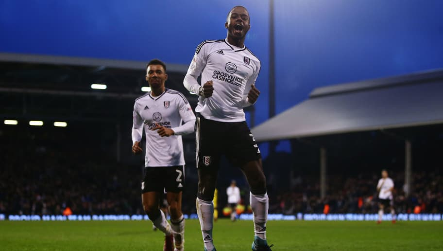 LONDON, ENGLAND - JANUARY 20:  Ryan Sessegnon of Fulham celebrates scoring his sides fifth goal during the Sky Bet Championship match between Fulham and Burton Albion at Craven Cottage on January 20, 2018 in London, England.  (Photo by Jordan Mansfield/Getty Images)
