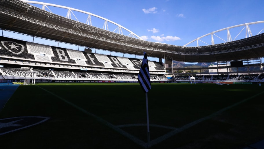 RIO DE JANEIRO, BRAZIL - JULY 16: General view of Nilton Santos stadium before a match between Vasco da Gama and Santos as part of Brasileirao Series A 2017 on July 16, 2017 in Rio de Janeiro, Brazil. The match is held with the gates closed for fans, because of punishment imposed on Vasco da Gama's team. (Photo by Buda Mendes/Getty Images)