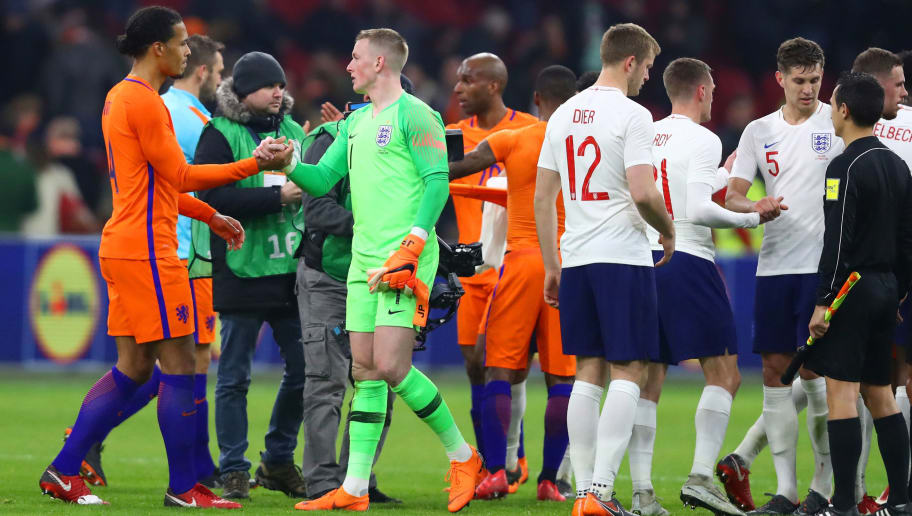 VIDEO: England Fans Shocked by Dutch Mascot's Actions During