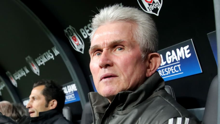 ISTANBUL, TURKEY - MARCH 14:  Jupp Heynckes, head coach of Bayern Muenchen looks on prior to the UEFA Champions League Round of 16 Second Leg match Besiktas and Bayern Muenchen at Vodafone Park on March 14, 2018 in Istanbul, Turkey.  (Photo by Alexander Hassenstein/Bongarts/Getty Images)