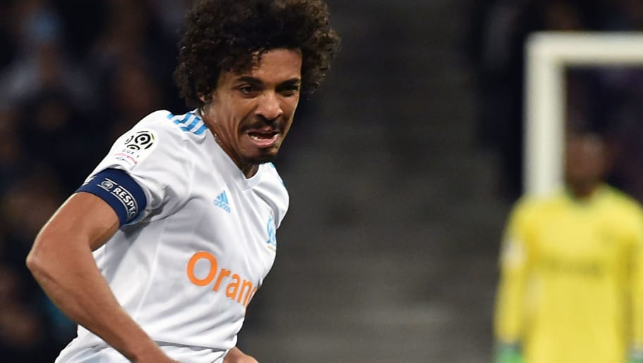 Marseille's Brazilian midfielder Luiz Gustavo controls the ball during the French L1 football match between Toulouse (TFC) and Marseille (OM) at the Municipal Stadium in Toulouse, southern France on March 11, 2018. / AFP PHOTO / PASCAL PAVANI        (Photo credit should read PASCAL PAVANI/AFP/Getty Images)