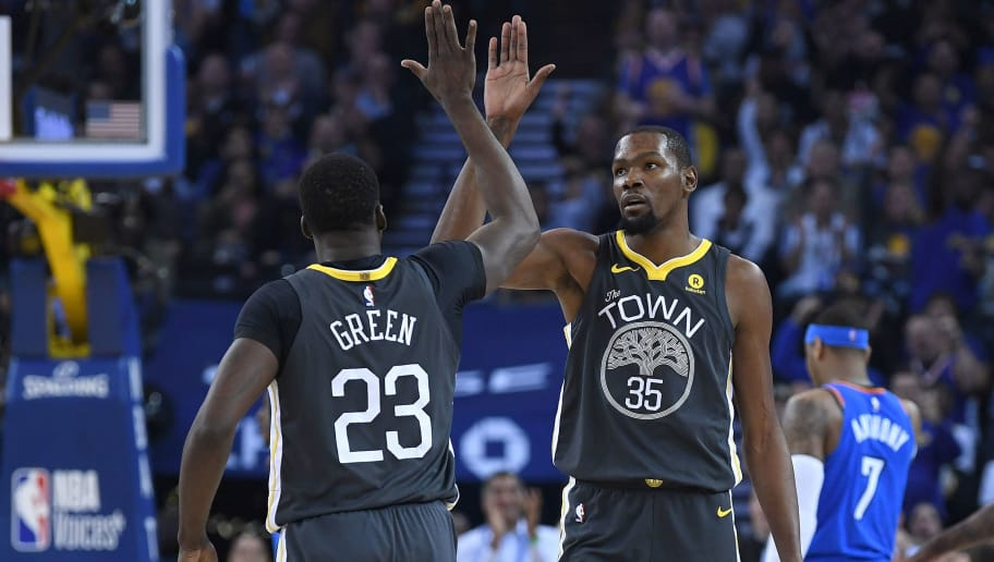 cae31f2f538 Kevin Durant and Draymond Green Available to Play Tonight Against Bucks