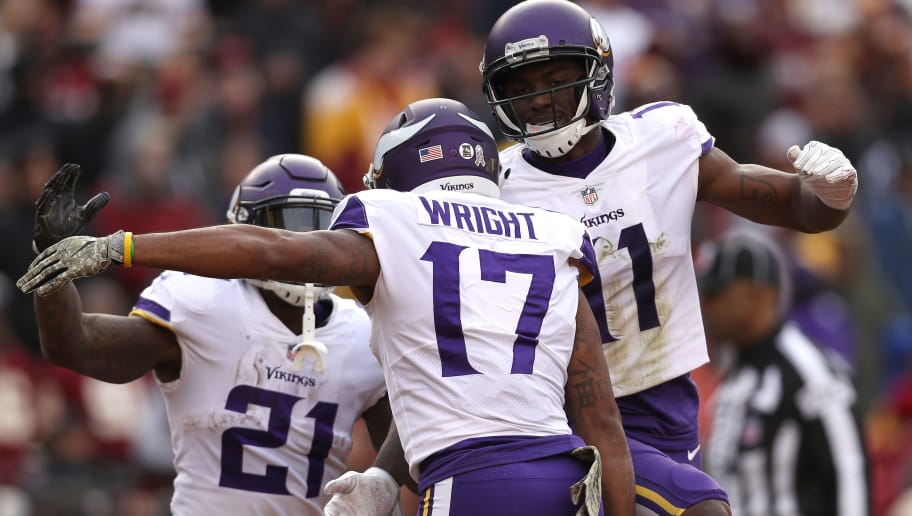 buy popular c3a93 68e8d Vikings Fans Are Pumped Over Kendall Wright's Jersey Number ...