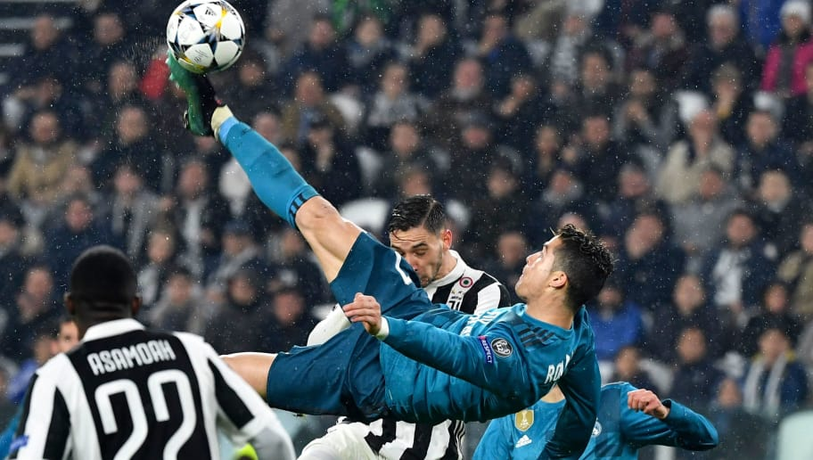 ba67d9b31 12 of the Greatest Goals in Champions League History After Ronaldo's  Stunning Bicycle Kick