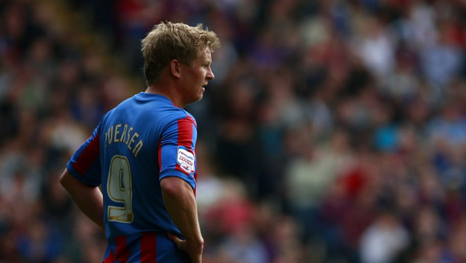 LONDON, ENGLAND - APRIL 16:  Steffen Iversen of Crystal Palace reacts during the npower Championship match between Crystal Palace and Scunthorpe United at Selhurst Park on April 16, 2011 in London, England.  (Photo by Dan Istitene/Getty Images)