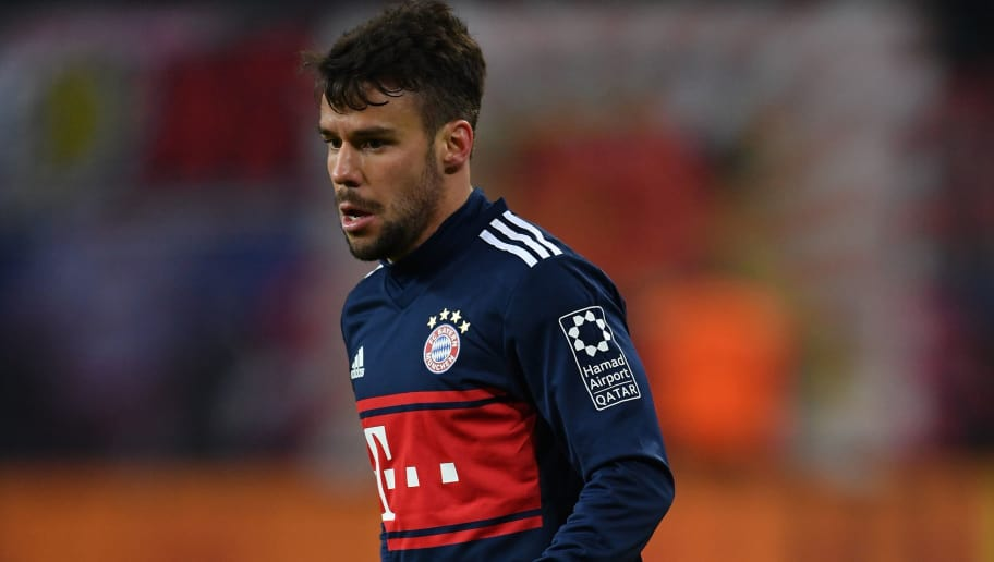 LEIPZIG, GERMANY - MARCH 18:  Juan Bernat of Bayern in action during the Bundesliga match between RB Leipzig and FC Bayern Muenchen at Red Bull Arena on March 18, 2018 in Leipzig, Germany.  (Photo by Stuart Franklin/Bongarts/Getty Images)