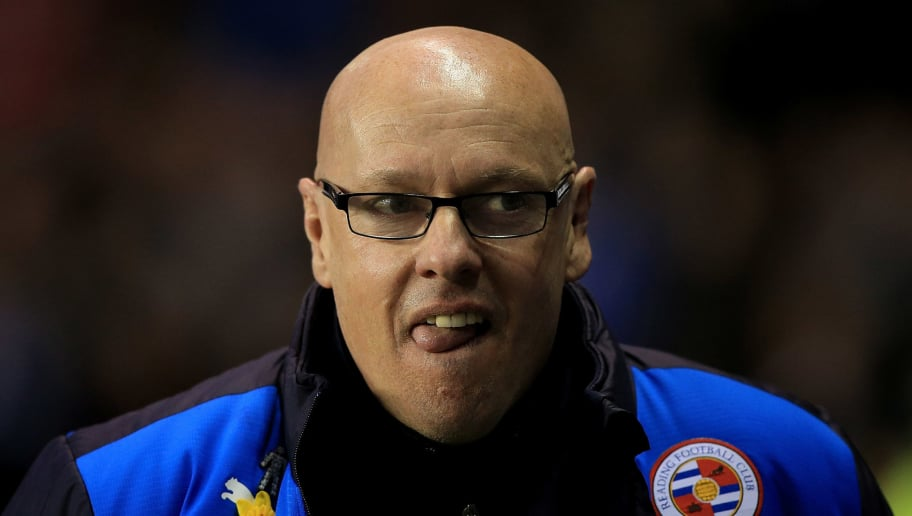 READING, ENGLAND - APRIL 05:  Reading manager Brian McDermott looks on ahead of the Sky Bet Championship match between Reading and Nottingham Forest at the Madejski Stadium on April 5, 2016 in Reading, United Kingdom.  (Photo by Ben Hoskins/Getty Images)