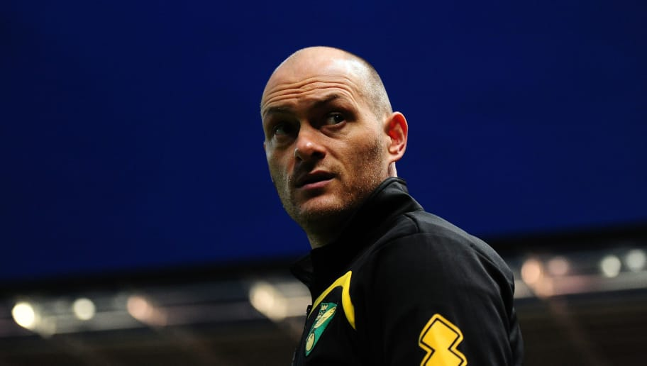BRISTOL, UNITED KINGDOM - MARCH 07: Alex Neil, Manager of Norwich City looks on during the Sky Bet Championship match between Bristol City and Norwich City at Ashton Gate on March 7, 2017 in Bristol, England. (Photo by Harry Trump/Getty Images)