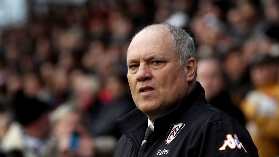 LONDON, ENGLAND - DECEMBER 01:  Martin Jol, Manager of Fulham looks on during the Barclays Premier League match between Fulham and Tottenham Hotspur at Craven Cottage on December 1, 2012 in London, England.  (Photo by Jan Kruger/Getty Images)