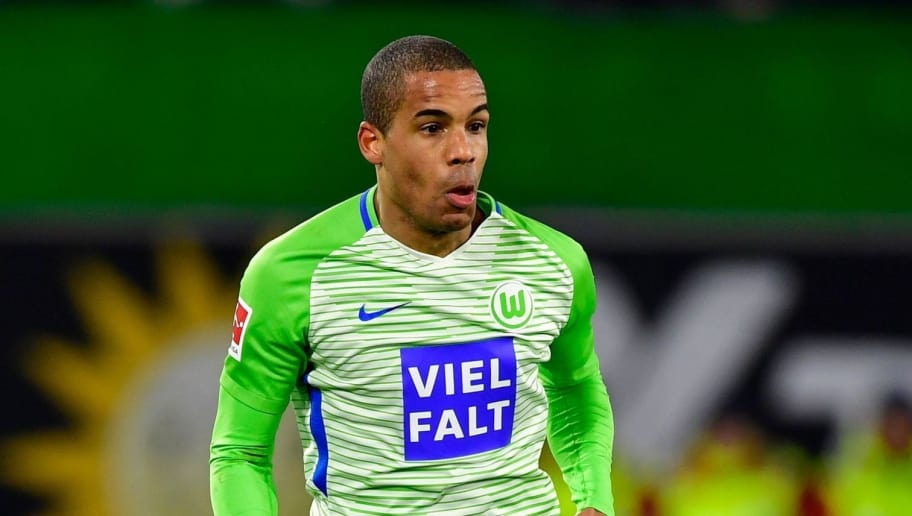 Wolfsburg's German midfielder Daniel Didavi runs with the ball during the German First division Bundesliga football match VfL Wolfsburg vs Schalke 04, in Wolfsburg, on March 17, 2018. / AFP PHOTO / John MACDOUGALL / RESTRICTIONS: DURING MATCH TIME: DFL RULES TO LIMIT THE ONLINE USAGE TO 15 PICTURES PER MATCH AND FORBID IMAGE SEQUENCES TO SIMULATE VIDEO. == RESTRICTED TO EDITORIAL USE == FOR FURTHER QUERIES PLEASE CONTACT DFL DIRECTLY AT + 49 69 650050  / RESTRICTIONS: DURING MATCH TIME: DFL RULES TO LIMIT THE ONLINE USAGE TO 15 PICTURES PER MATCH AND FORBID IMAGE SEQUENCES TO SIMULATE VIDEO. == RESTRICTED TO EDITORIAL USE == FOR FURTHER QUERIES PLEASE CONTACT DFL DIRECTLY AT + 49 69 650050        (Photo credit should read JOHN MACDOUGALL/AFP/Getty Images)