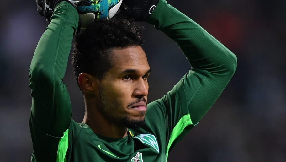 BREMEN, GERMANY - FEBRUARY 11:  Theodor Gebre Selassie of Bremen in action during the Bundesliga match between SV Werder Bremen and VfL Wolfsburg at Weserstadion on February 11, 2018 in Bremen, Germany.  (Photo by Stuart Franklin/Bongarts/Getty Images)