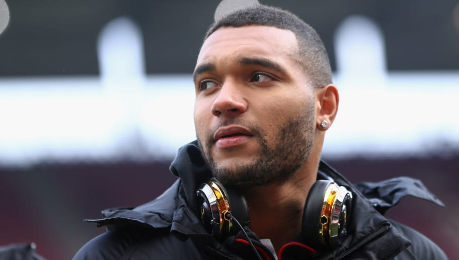 COLOGNE, GERMANY - MARCH 18:  Jonathan Tah of Leverkusen looks on prior to the Bundesliga match between 1. FC Koeln and Bayer 04 Leverkusen at RheinEnergieStadion on March 18, 2018 in Cologne, Germany.  (Photo by Alex Grimm/Bongarts/Getty Images)