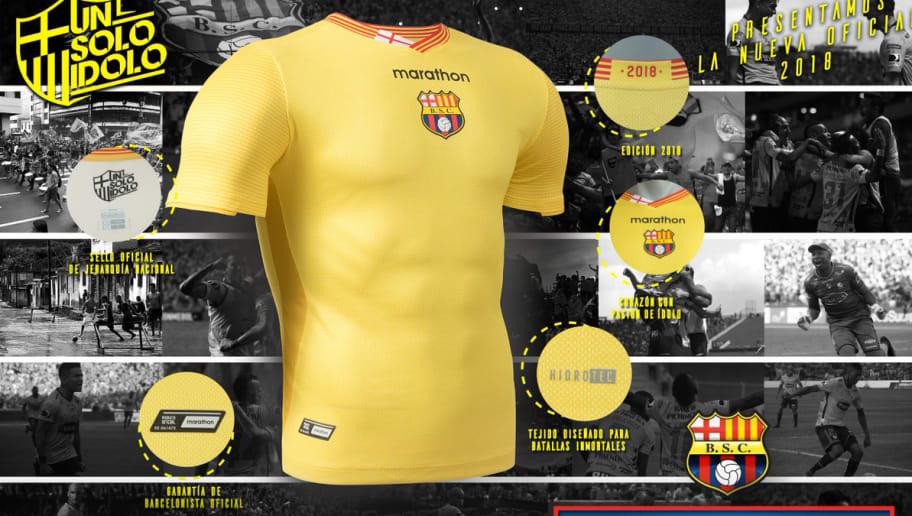 500 Dólares costará la nueva camiseta que lanzará Barcelona SC  e67aaf15f30