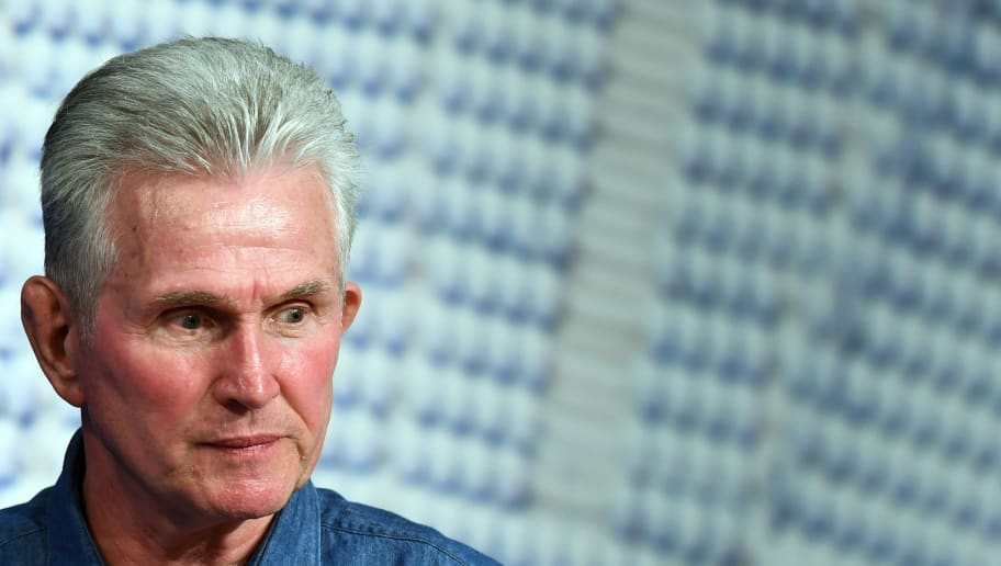 Bayern Munich's German head coach Jupp Heynckes arrives for a press conference on April 10, 2018 in Munich, southern Germany, on the eve of the UEFA Champions League second leg quarter-final football match between Munich and Sevilla.  / AFP PHOTO / Christof STACHE        (Photo credit should read CHRISTOF STACHE/AFP/Getty Images)