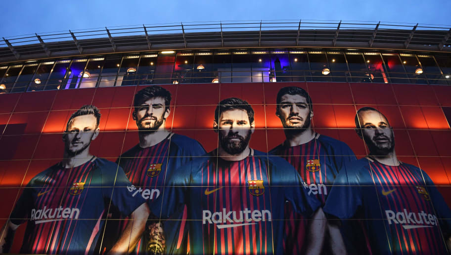BARCELONA, SPAIN - MARCH 14:  General view outside the stadium prior to the UEFA Champions League Round of 16 Second Leg match FC Barcelona and Chelsea FC at Camp Nou on March 14, 2018 in Barcelona, Spain.  (Photo by David Ramos/Getty Images)