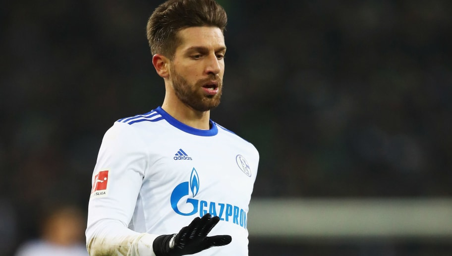 MOENCHENGLADBACH, GERMANY - DECEMBER 09:  Matija Nastasic of Schalke 04 in action during the Bundesliga match between Borussia Moenchengladbach and FC Schalke 04 at Borussia-Park on December 9, 2017 in Moenchengladbach, Germany.  (Photo by Dean Mouhtaropoulos/Bongarts/Getty Images)