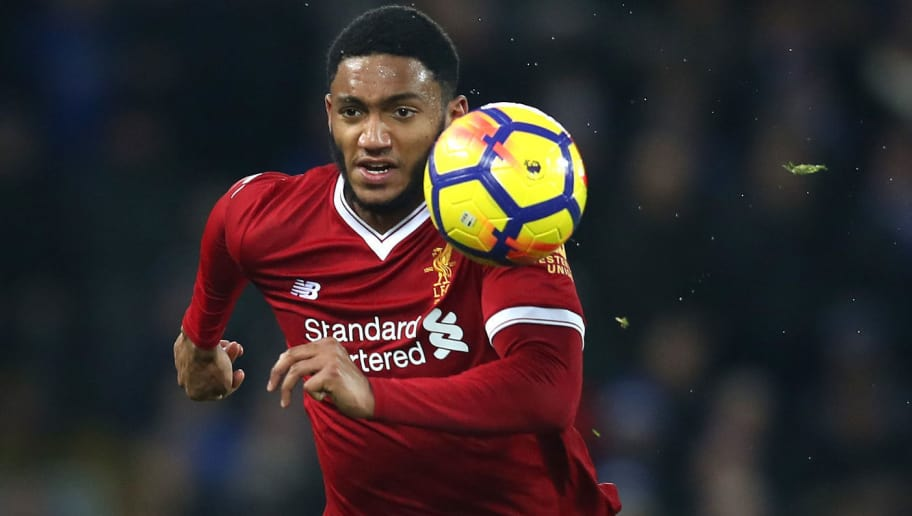 LIVERPOOL, ENGLAND - DECEMBER 30:  Joe Gomez of Liverpool in action during the Premier League match between Liverpool and Leicester City at Anfield on December 30, 2017 in Liverpool, England.  (Photo by Clive Brunskill/Liverpool FC via Getty Images)