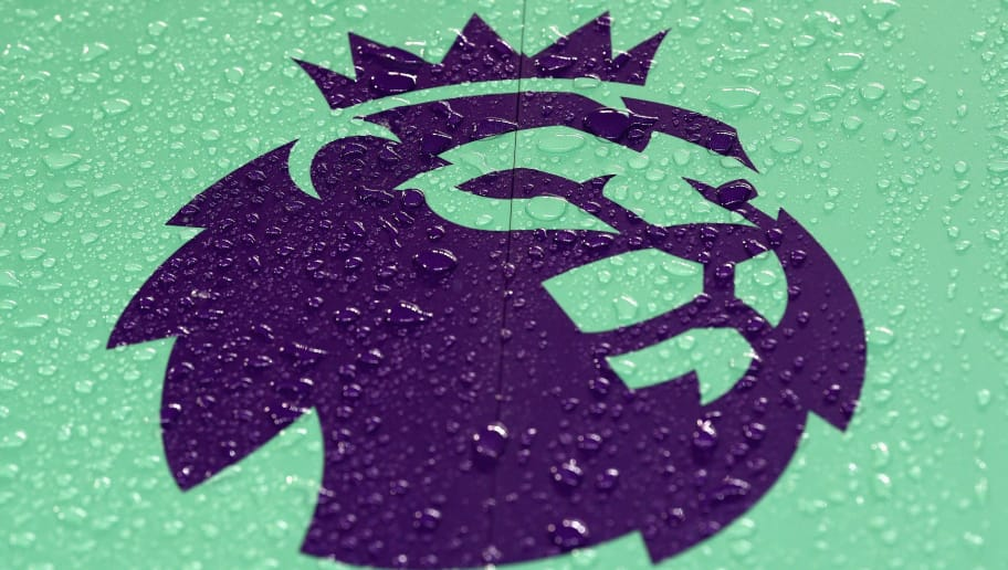 MANCHESTER, ENGLAND - JANUARY 02:  The Premier League logo is displayed prior to the Premier League match between Manchester City and Watford at Etihad Stadium on January 2, 2018 in Manchester, England.  (Photo by Laurence Griffiths/Getty Images)