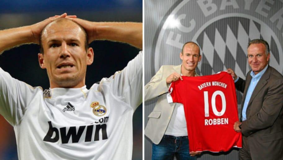 Robben till real madrid