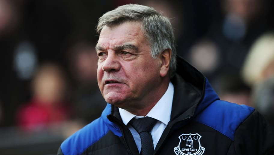 SWANSEA, WALES - APRIL 14:  Sam Allardyce, Manager of Everton looks on prior to the Premier League match between Swansea City and Everton at Liberty Stadium on April 14, 2018 in Swansea, Wales.  (Photo by Harry Trump/Getty Images)