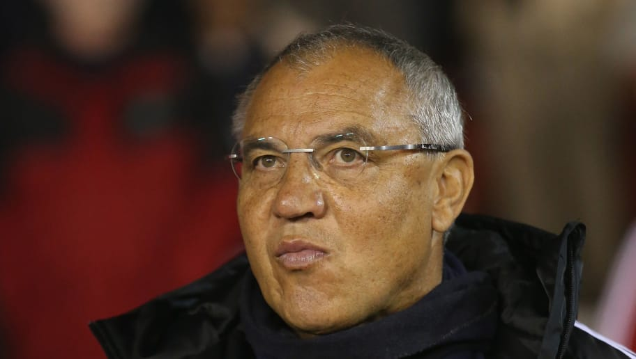 NOTTINGHAM, ENGLAND - SEPTEMBER 17:  Felix Magath, the Fulham manager looks on during the Sky Bet Championship match between Nottingham Forest and Fulham at the City Ground on September 17, 2014 in Nottingham, England.  (Photo by David Rogers/Getty Images)