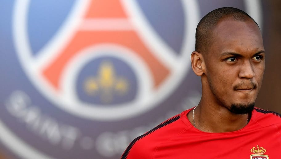 Monaco's Brazilian defender Fabinho arrives for a training session at the Grand Stade in Tangiers on July 28, 2017 on the eve of the French Trophy of Champions (Trophee des Champions) football match between Paris Saint-Germain and Monaco. / AFP PHOTO / FRANCK FIFE        (Photo credit should read FRANCK FIFE/AFP/Getty Images)