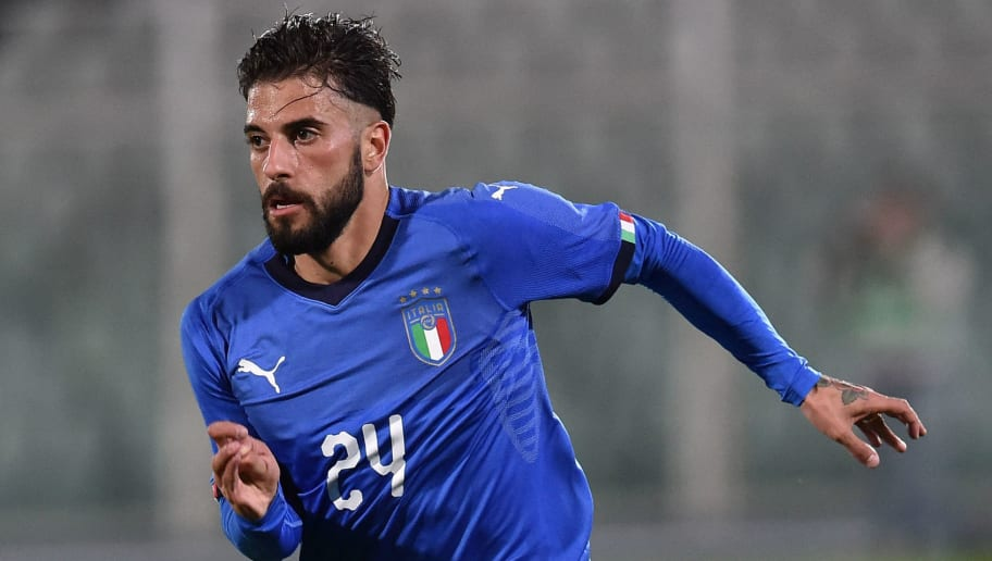 PESCARA, ITALY - NOVEMBER 09:  Daniele Verde of Italy U21  in action during the friendly match between Italy U21 and Pescara Calcio at Adriatico Stadium Giovanni Cornacchia on November 9, 2017 in Pescara, Italy.  (Photo by Giuseppe Bellini/Getty Images);  (Photo by Giuseppe Bellini/Getty Images)