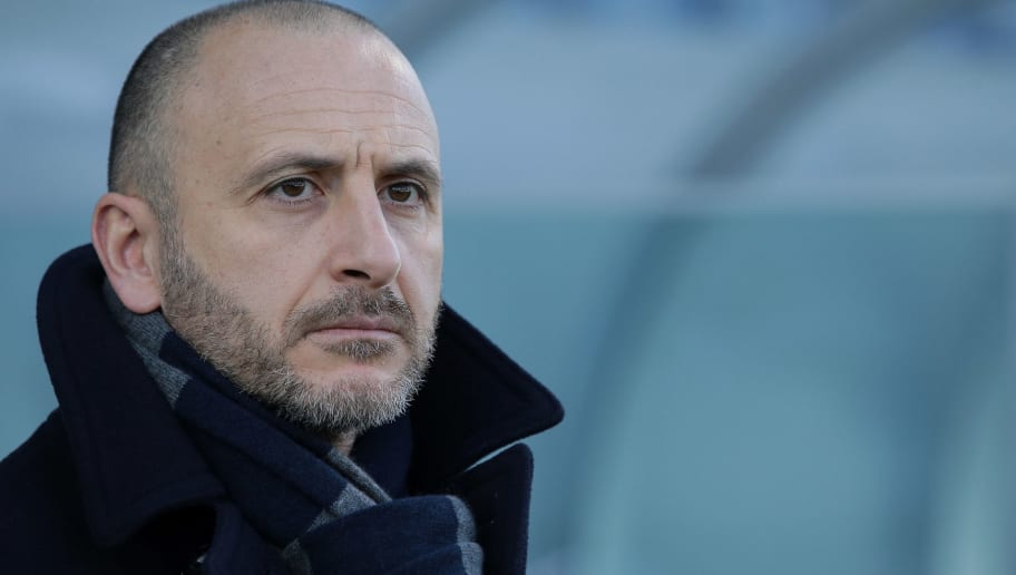 REGGIO NELL'EMILIA, ITALY - DECEMBER 23:  Sportif Director of FC Internazionale Milano Piero Ausilio looks on prior to the serie A match between US Sassuolo and FC Internazionale at Mapei Stadium - Citta' del Tricolore on December 23, 2017 in Reggio nell'Emilia, Italy.  (Photo by Emilio Andreoli/Getty Images)